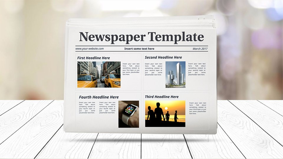 Newsletter Templates How To Create A Newsletter Prezi - How to make a newsletter template