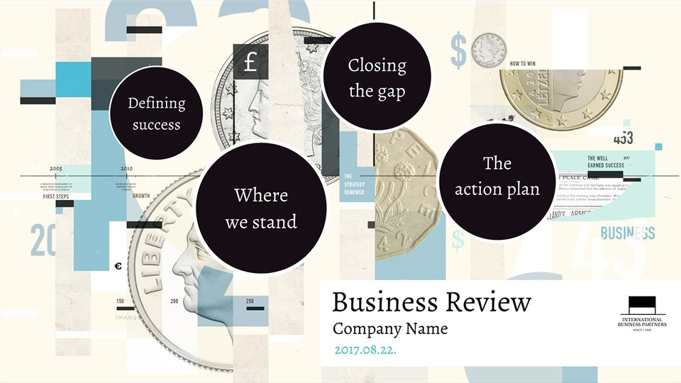 Business review templates business presentations prezi quarterly report finance flashek Images