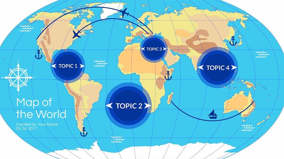 World map atlas maxwellsz